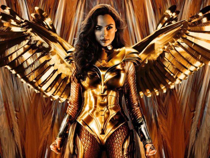 Золотая броня Чудо-женщины