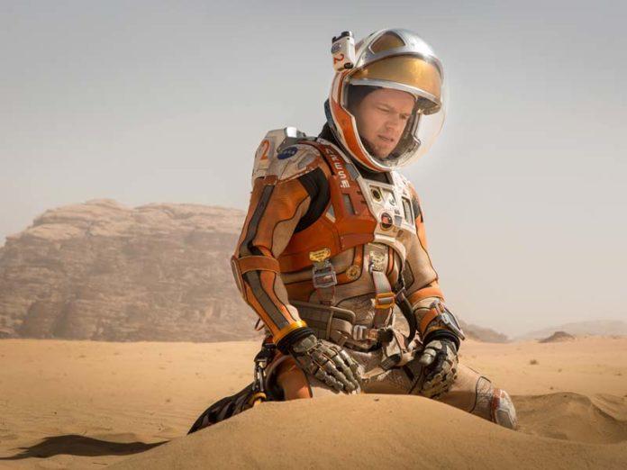 Мэтт Дэймон на Марсе
