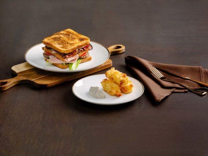Моцарелла и краб-сендвич