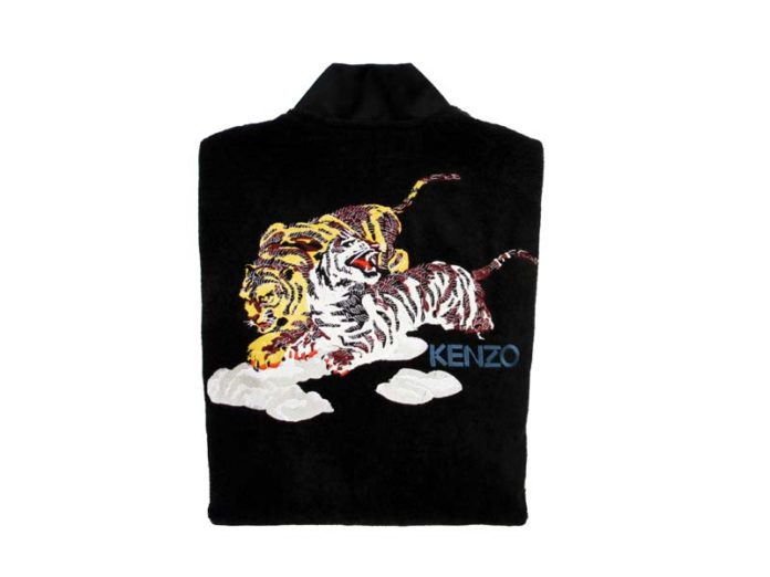 Тигр на халате