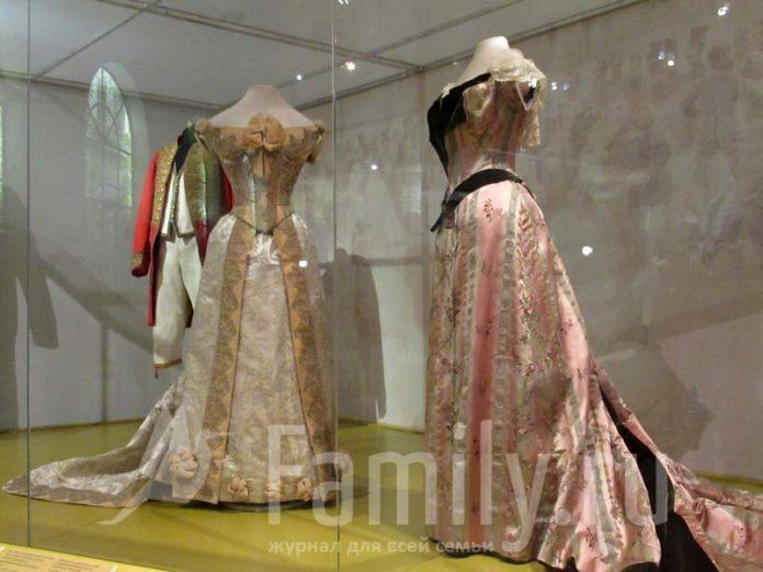 Бальное платье императрицы