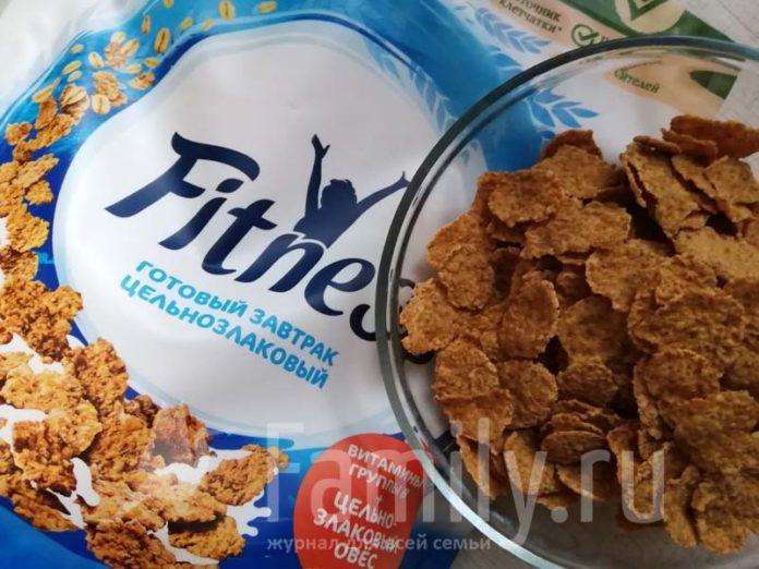 Хлопья Nestle Fitness на завтрак