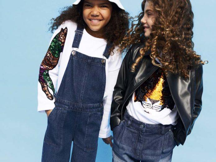 Девочки-модели в рекламе Benetton