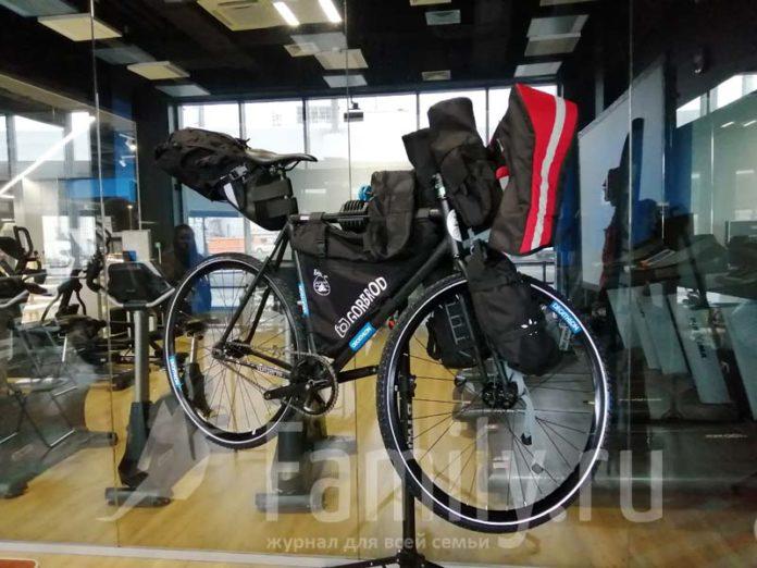 Велосипед Иракли Удзилаури