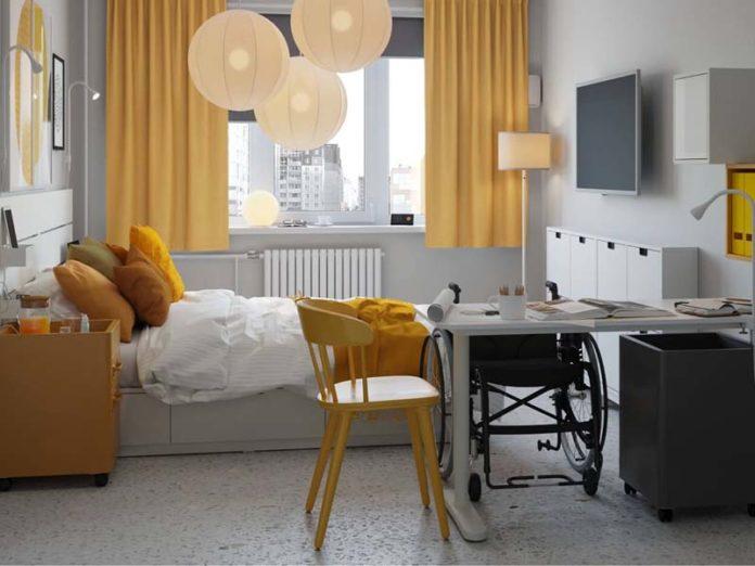 Комната для инвалида