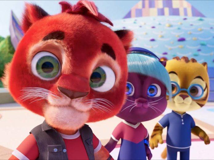 Котики из мультфильма