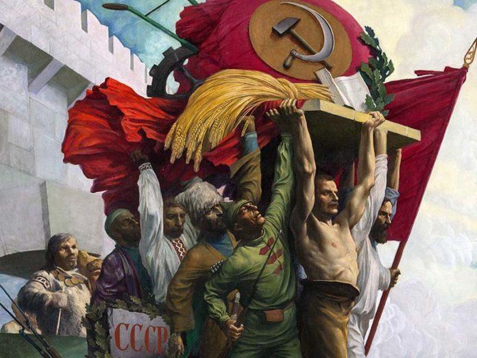 Мозаика времен СССР
