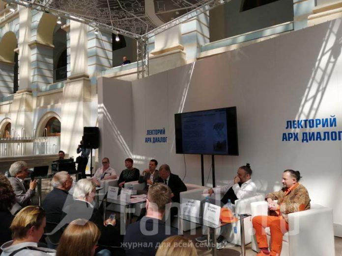 Пресс-конференция в Гостином Дворе