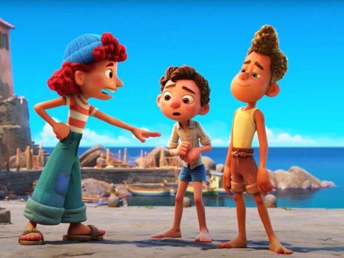 Герои фильма Disney и Pixar «Лука»
