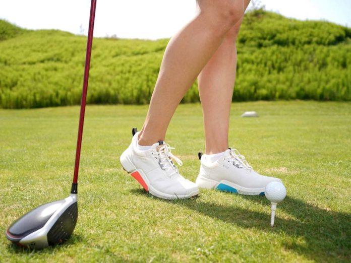 Женские кроссовки Ecco Golf