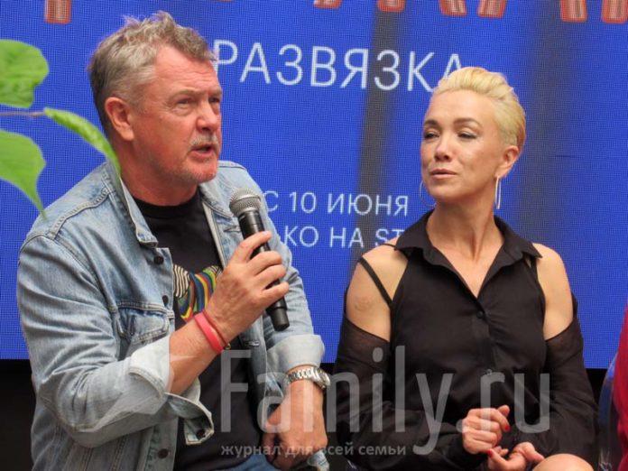Юрий Мороз и Дарья Мороз
