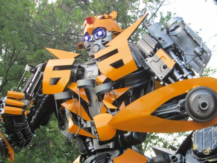 Робот на Geek Picnic