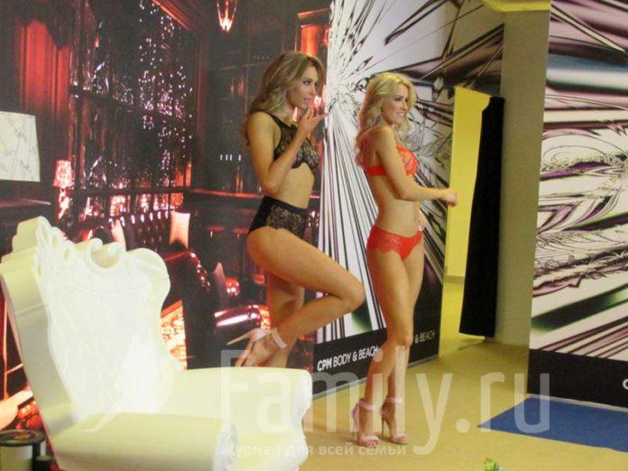 Блондинка и брюнетка в сексуальном белье