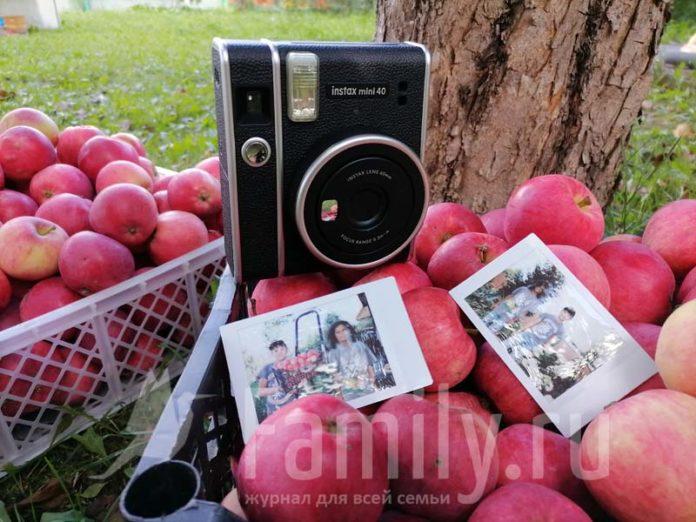 Снимки на Instaxmini 40 Fujifilm