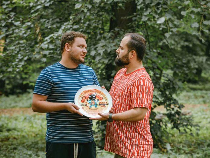 Борис Дергачев и Илья Фарфель