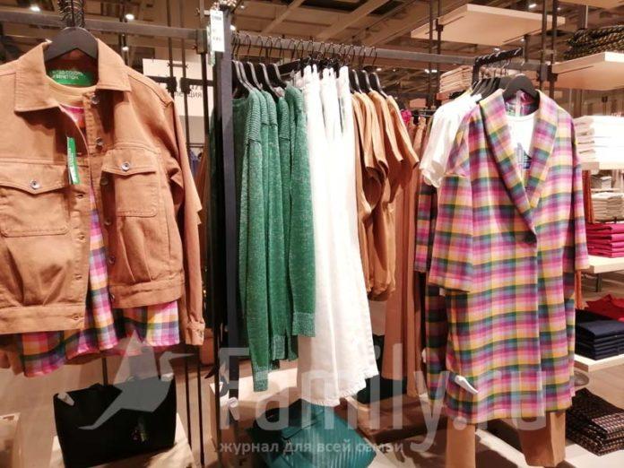 Женская коллекция одежды Benetton на осень 2021