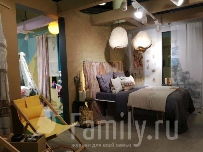 Природные материалы в оформлении комнаты