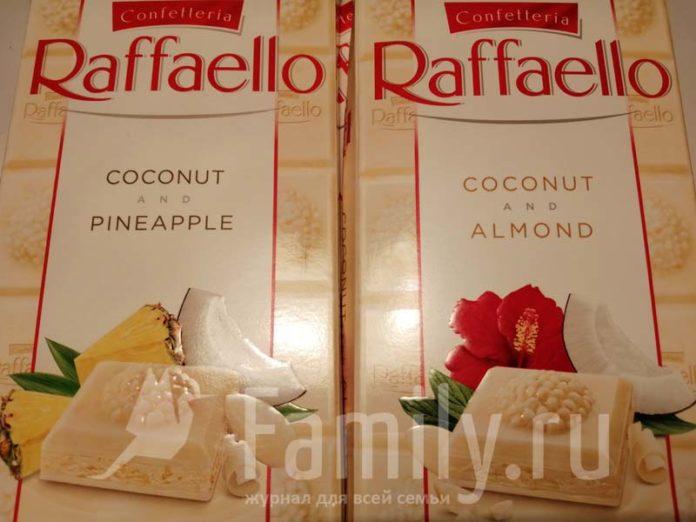 Белый шоколад Raffaello