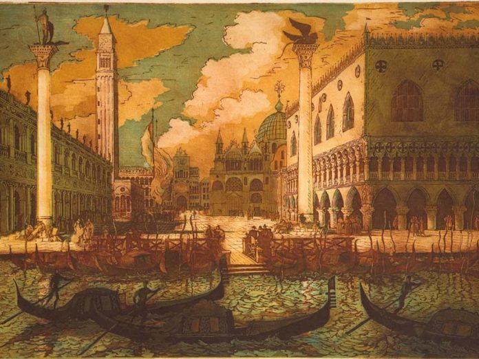 Венеция на гравюре